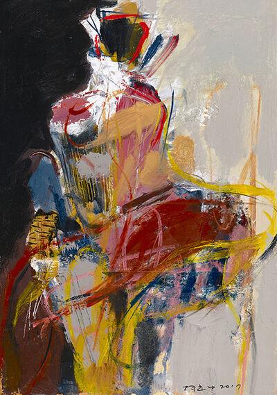 Ko shih chung, 'Women & Flower_4', 2017
