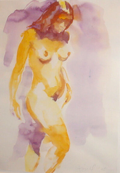 Eric Fischl, 'Untitled (Nude)', 2005