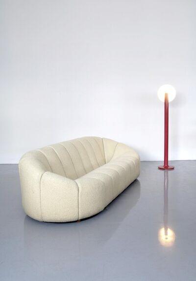 Pierre Paulin (1927-2009), 'Elysée couch & Lampadaire', Couch: 1972-lamp: 1965