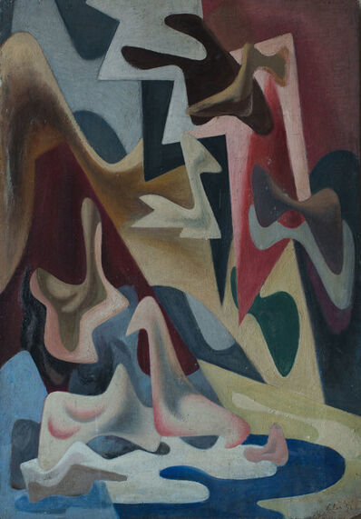 Mario Deluigi, 'Amori diurni e notturni', 1946