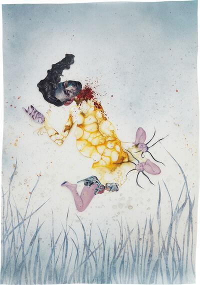 Wangechi Mutu, 'I never asked you to listen', 2004