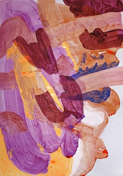 Eliel David Pérez Martínez, 'El caracol púrpura y su ofrenda', 2020