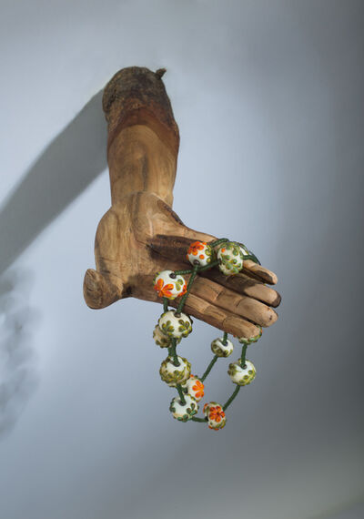 Kathleen Elliot, 'Offerings #5, Orange Flower Beads', 2013