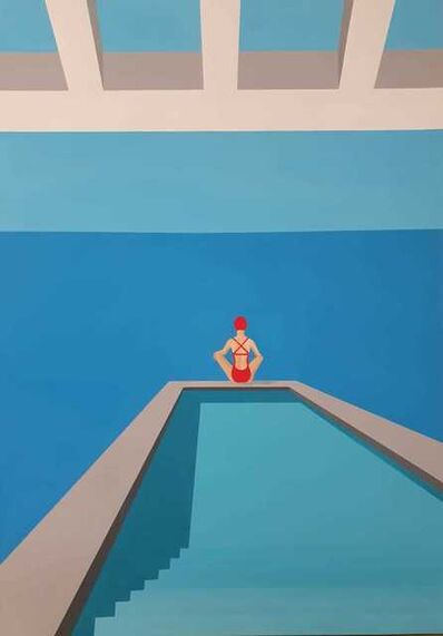 Noa Havatzelet, 'Meditation - contemporary minimalist painting', 2021