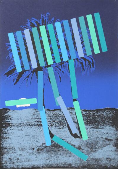 Menashe Kadishman, 'Blue Palm', 1979