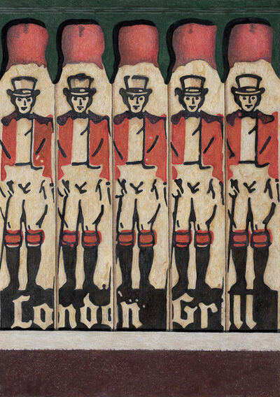 Aaron Kasmin, 'London Grill', 2018