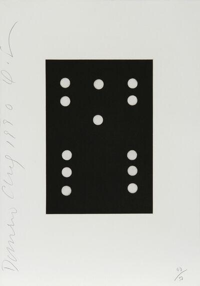 Donald Sultan, 'Dominoes Portfolio - 28', 1990