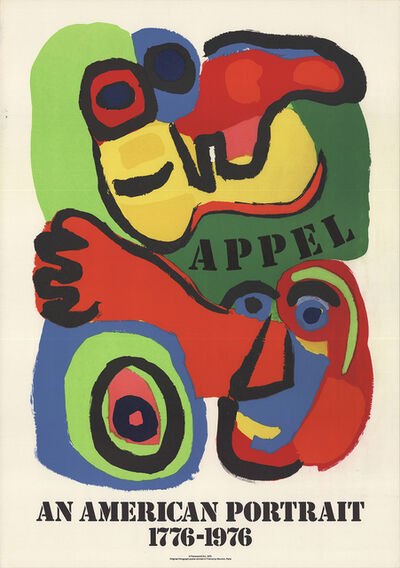 Karel Appel, 'An American Portrait', 1975