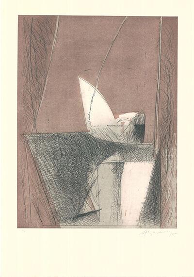 Albert Ràfols-Casamada, 'Abril-1', 1985