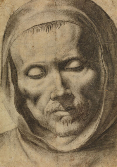 Francisco de Zurbarán, 'Head of a Monk', 1625-1664