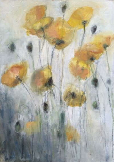 "Olga Gorokhova, '""Yellow poppies""', 2010"