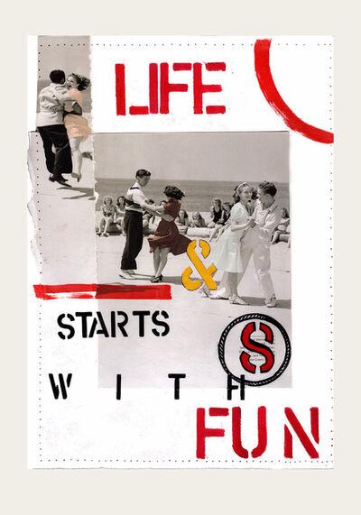 Maite Baron, 'Life Starts With Fun', 2021