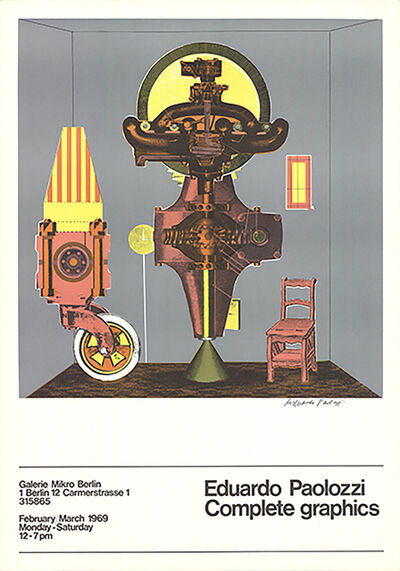 Eduardo Paolozzi, 'Metallization of a Dream', 1969