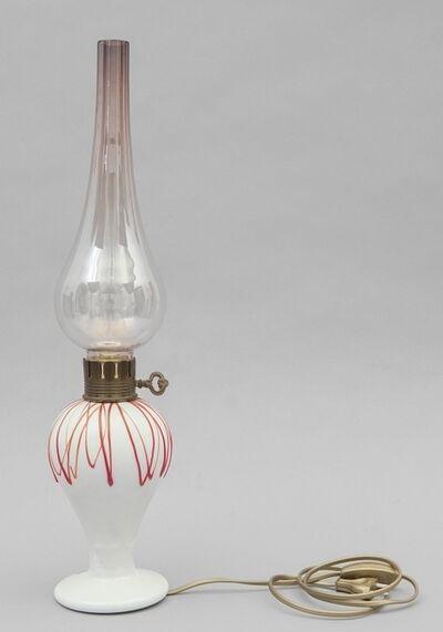 I.V.R. Mezzega, 'A table lamp 50s.'