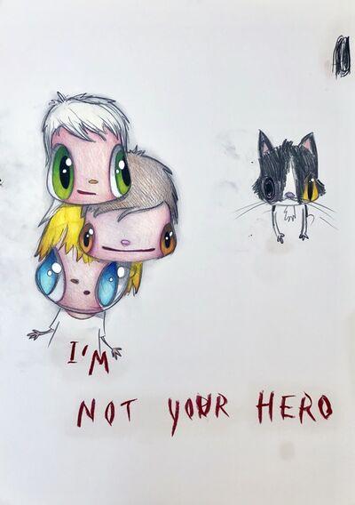 Javier Calleja, 'I'm not your hero', 2019