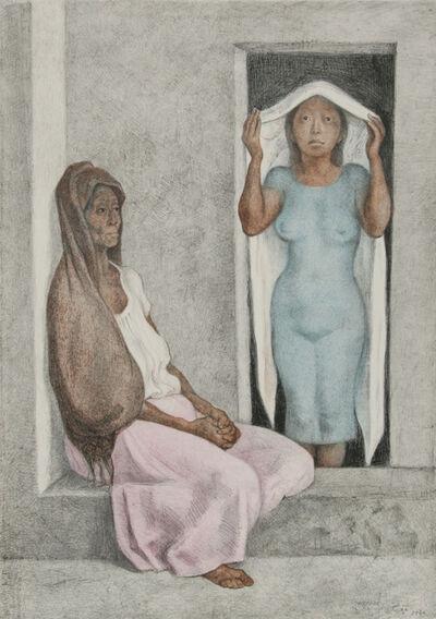 Francisco Zúñiga, 'El Rebozo Blanco', 1986