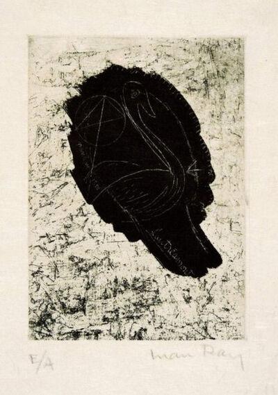 Man Ray, 'Ritratto di Lautreamont', 1962