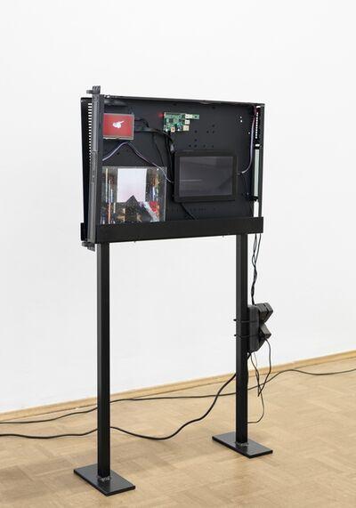 Cécile B. Evans, 'Black Box (Server Sleep) AGNES', 2015