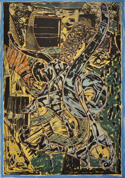 Frank Stella, 'Yellow Journal', 1982