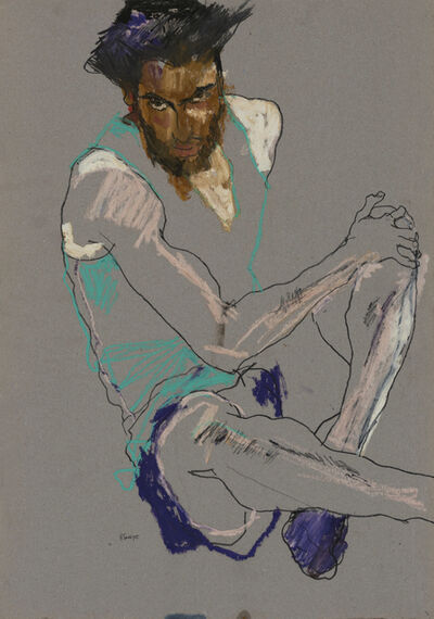 Howard Tangye, 'Asad (sitting)', 2015–16