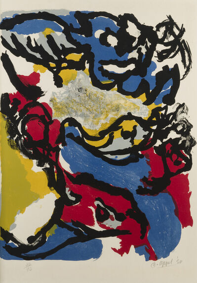 Karel Appel, 'Composition 58', 1958