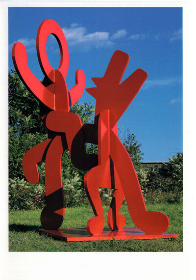 Keith Haring, 'Keith Haring Sculptures: Tony Shafrazi announcement ', 1990