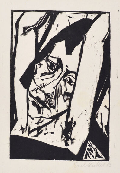Erich Heckel, 'Young Girl', 1913