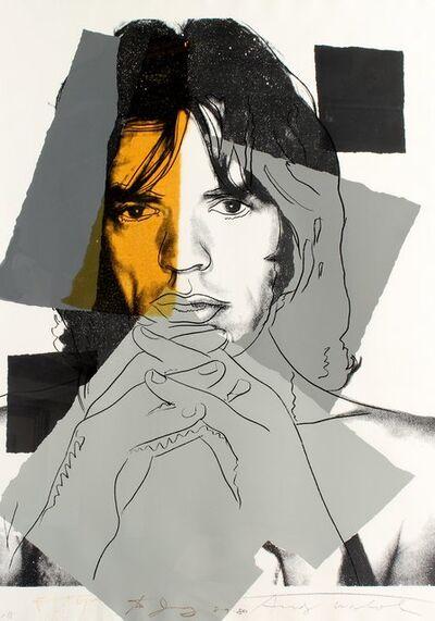 Andy Warhol, 'MICK JAGGER II.147', 1975