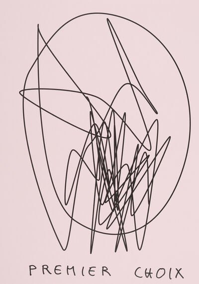 Claude Closky, 'Premier choix (rose) (b)', 2020