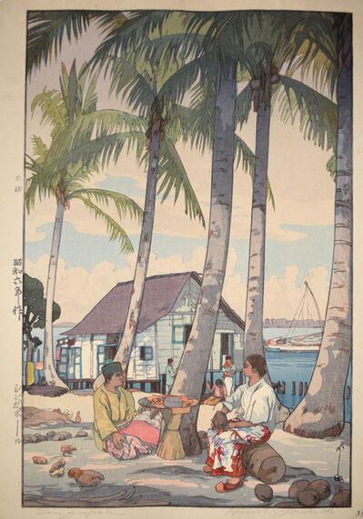 Yoshida Hiroshi, 'Singapore', 1931