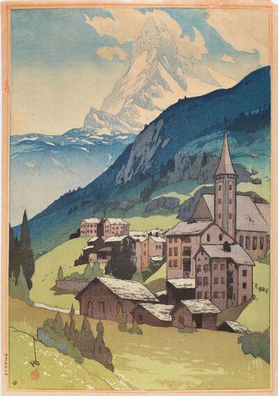 Yoshida Hiroshi, 'Matterhorn - Day', 1925
