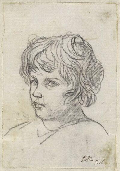 Jacques-Louis David, 'Head of a Boy', 1775/80