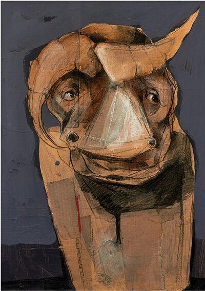 Bassem Dahdouh, 'Human Bull 2', 2016