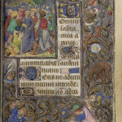 Lievan van Lathem, 'The Betrayal of Christ', 1471