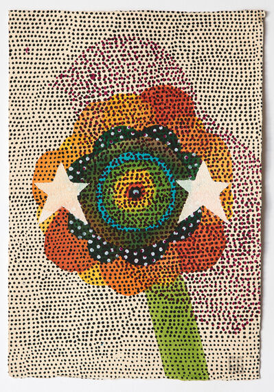 Glenn Goldberg, 'Flower, bird, stars', 2017