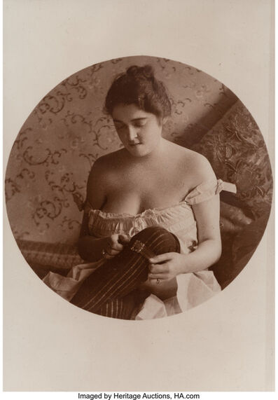 Various Artists (20th century), 'A Group of Ten Photographic Reproductions of Erotic Postcards'