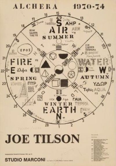 Joe Tilson, 'Alchera 1970-74', 1975