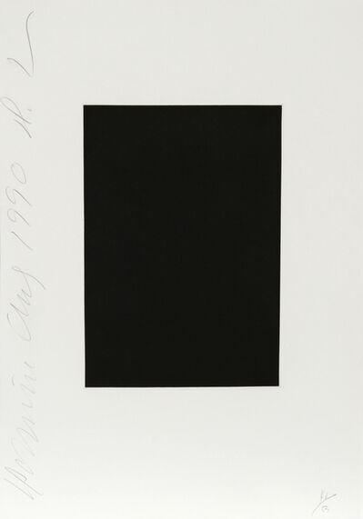 Donald Sultan, 'Dominoes Portfolio - 2', 1990