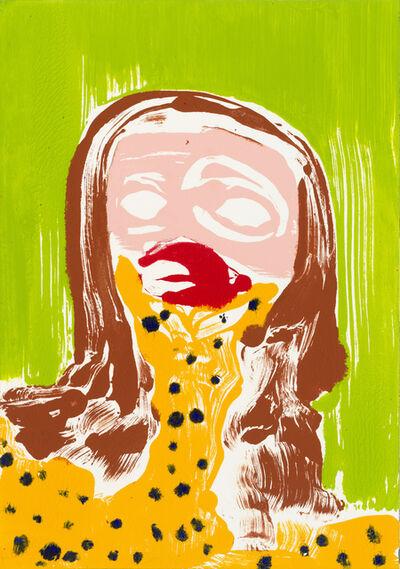 Nicola Tyson, 'Self-Portrait: Worried', 2016