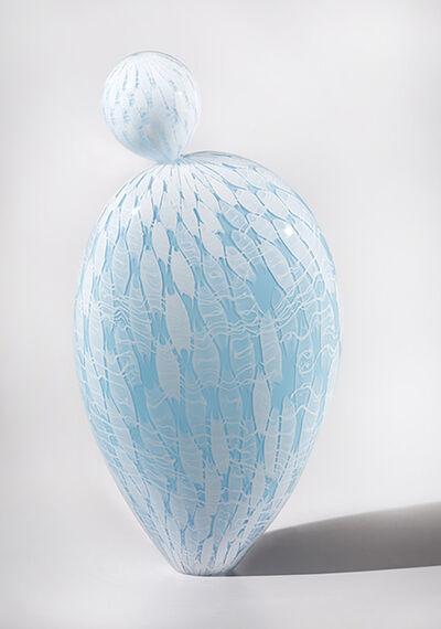 Nancy Callan, 'Pearly Blue Anemone', 2017