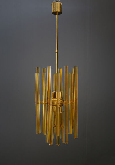 Venini, 'Large 50's Venini chandelier in perfect condition with 8 lights.', ca. 1950