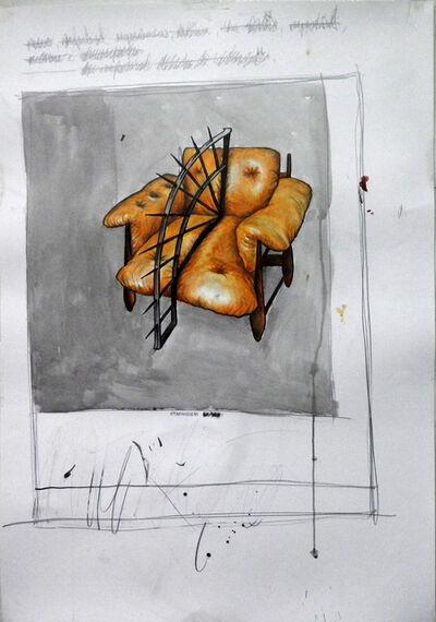 Daniel Murgel, 'Poltrona Mole - da série Desconforto [Poltrona Mole - Discomfort series]', 2013