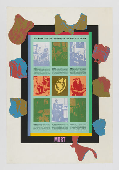 R. B. Kitaj, 'Mort', 1966