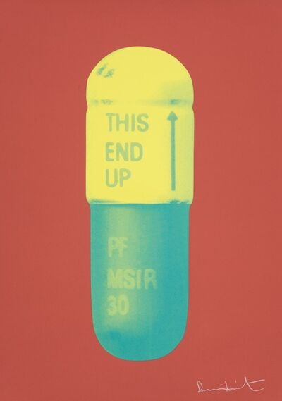 Damien Hirst, 'The Cure - Coral/Lemon Yellow/Turquoise', 2014