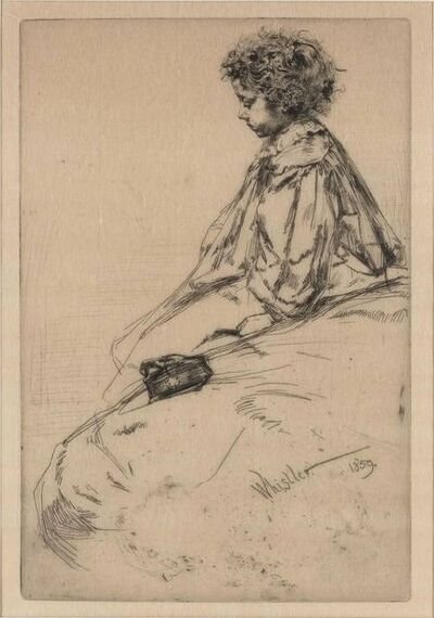 James Abbott McNeill Whistler, 'BIBI LALOUETTE (K. 51; G. 33)', 1859