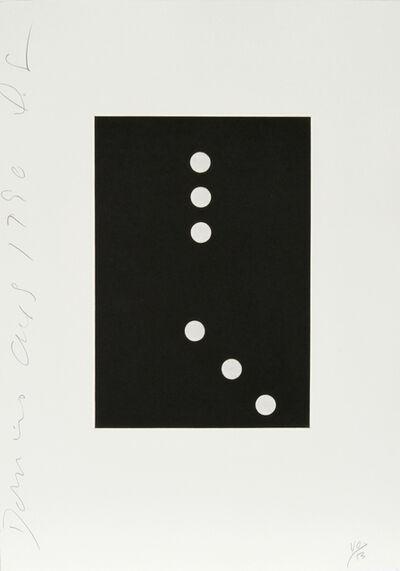 Donald Sultan, 'Dominoes Portfolio - 10', 1990