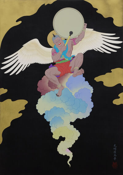 Tenmyouya Hisashi, 'Thunder God', 2019