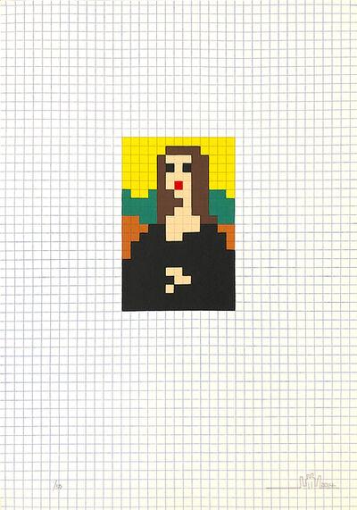 Invader, 'Low Res Mona Lisa', 2014