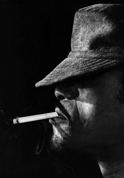 Globe Photo Archives, 'Sammy Davis Jr. Smoking', 1960