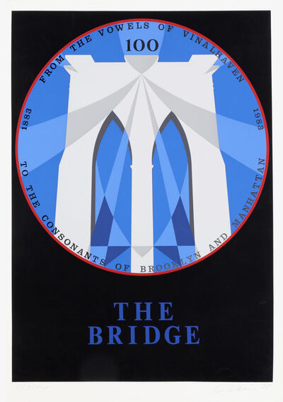 Robert Indiana, 'Brooklyn Bridge from the New York, New York Portfolio', 1983